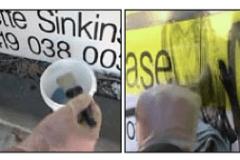 SSGR, Sensitive Surface Graffiti Remover