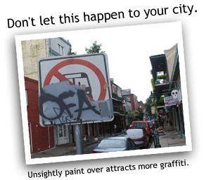 ¿Se imagina una ciudad sin graffiti?